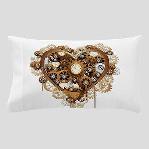 Steampunk Heart Love Pillow Case