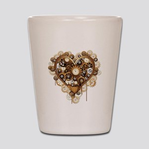 Steampunk Heart Love Shot Glass