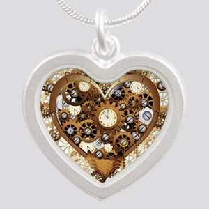 Steampunk Heart Love Necklaces