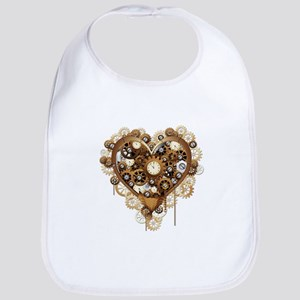 Steampunk Heart Love Bib