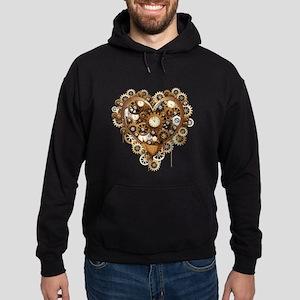 Steampunk Heart Love Hoodie