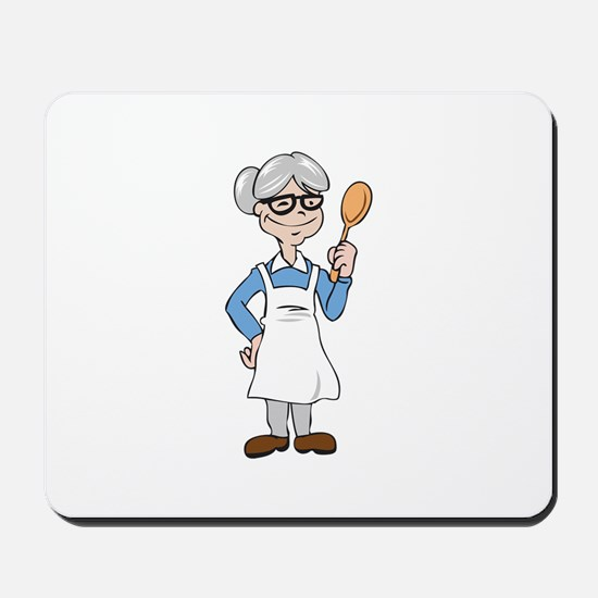 WOMAN COOK Mousepad