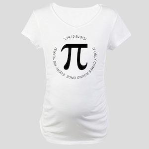 Pi Day 2015 100 Years Maternity T-Shirt