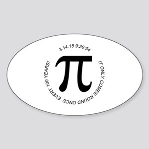 Pi Day 2015 100 Year Sticker