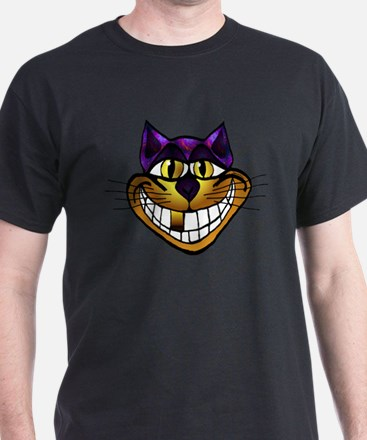 Golden Cheshire Cat T-Shirt