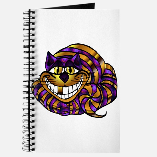 Golden Cheshire Cat Journal