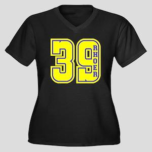 Rhoer Founding Year - Yellow Plus Size T-Shirt