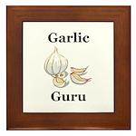 Garlic Guru Framed Tile