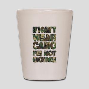 camo Shot Glass