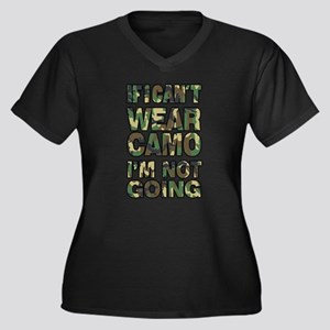 camo Plus Size T-Shirt
