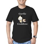 Garlic Goddess Men's Fitted T-Shirt (dark)