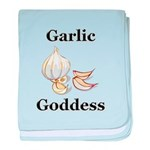 Garlic Goddess baby blanket