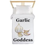 Garlic Goddess Twin Duvet