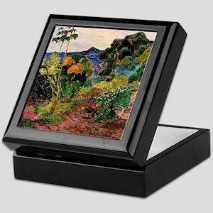 Martinique Landscape Keepsake Box