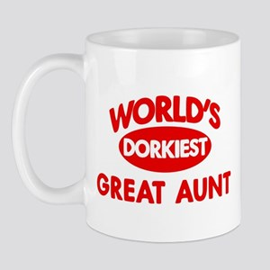 Dorkiest GREAT AUNT Mug