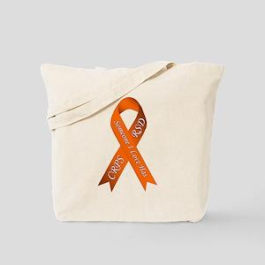 Someone I Love has CRPS RSD Orange Awaren Tote Bag