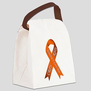 Someone I Love has CRPS RSD Orang Canvas Lunch Bag