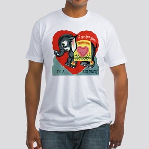 Vintage Elephant Valentine T-Shirt