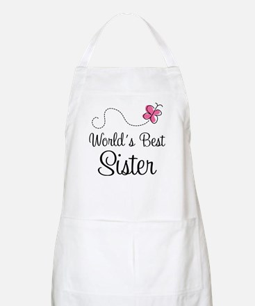 World's Best Sister Apron