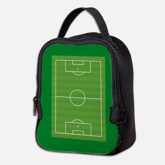 Soccer field Neoprene Lunch Bag