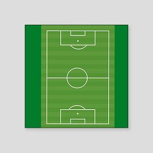 Soccer field Sticker