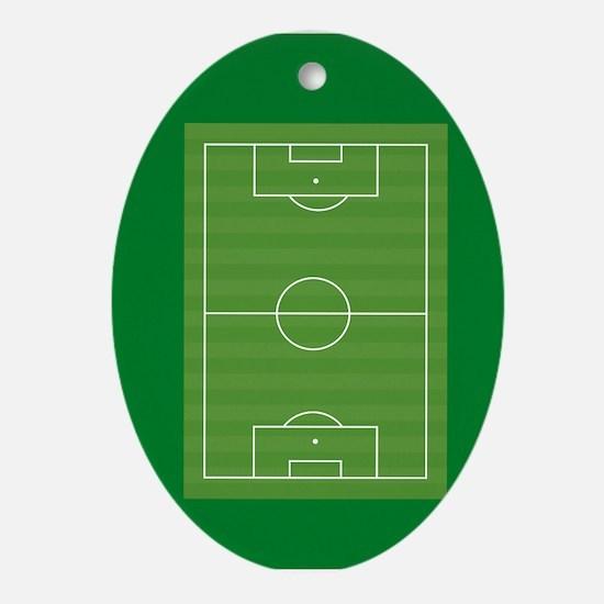 Soccer field Ornament (Oval)