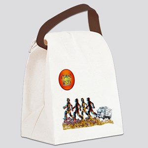 Stop Getting up 2 Canvas Lunch Bag