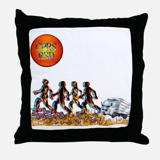 Stop Getting up 2.png Throw Pillow