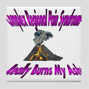 CRPS Really Burns My Ash Volcano - Violet Tile Coa