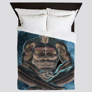 Lunar Meditation Queen Duvet