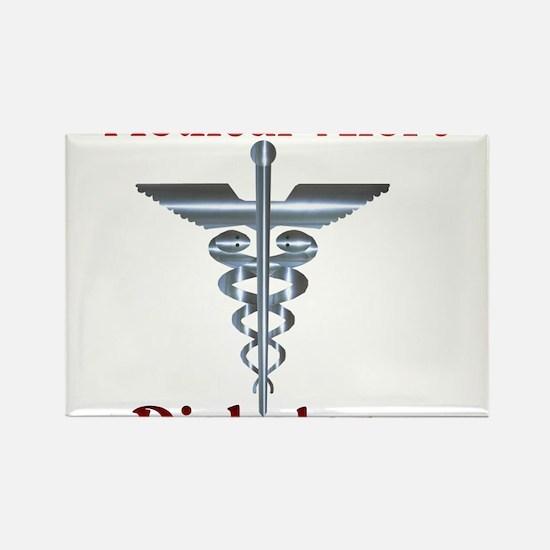 Medical Symbol Diabetes Medical Alert Rectangle Ma