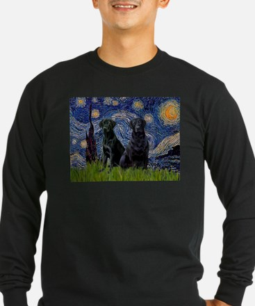 Starry Night & Black Labrado T