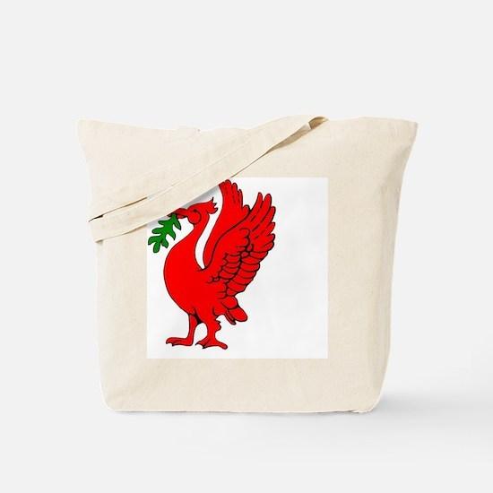 Liverpool Liverbird Tote Bag