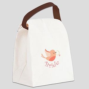 Bride Canvas Lunch Bag
