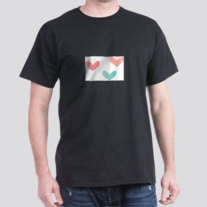 Multicolored Hearts T-Shirt