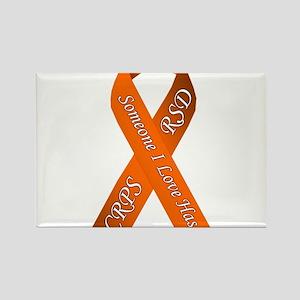 Someone I Love has CRPS RSD Orange Awarene Magnets