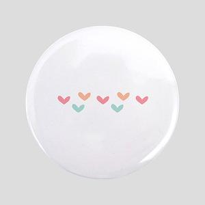 """Hearts Border 3.5"""" Button"""