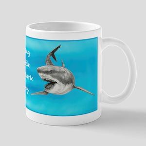 Great White Sharks ~ Left Shark ~ Mugs