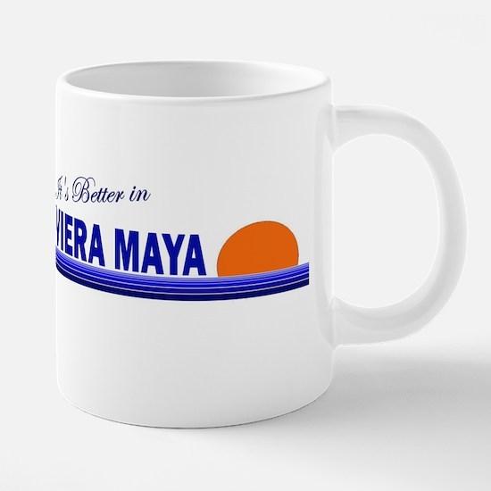 Its Better in Riviera Maya, M Mugs