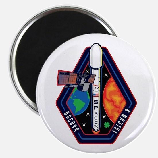 DSCOVR Launch Logo Magnet