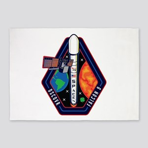 DSCOVR Launch Logo 5'x7'Area Rug