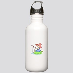 BOY FISHING Water Bottle