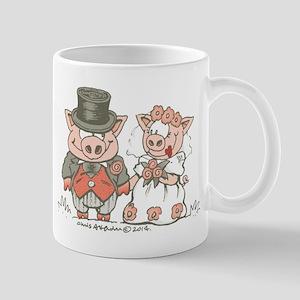 Wedding Pigs Mug