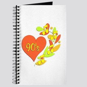 90s Music Heart Journal