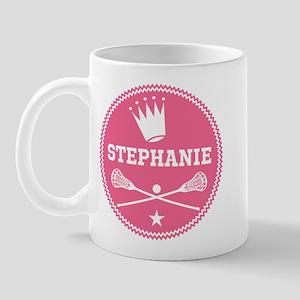Lacrosse Princess Personalized Mugs