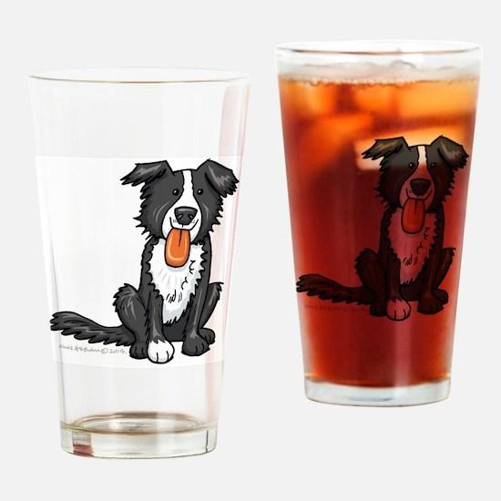 Unique Border Drinking Glass