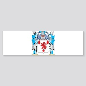 Shield Coat of Arms - Family Crest Bumper Sticker