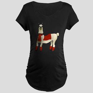 Llama Maternity T-Shirt