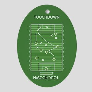 Football field Ornament (Oval)