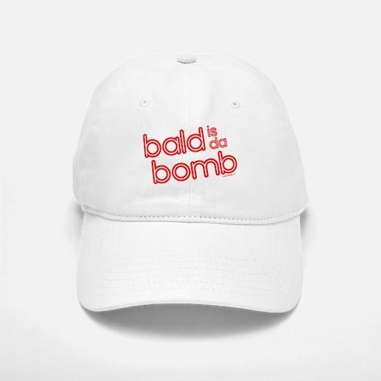 bald is da bomb Baseball Baseball Cap